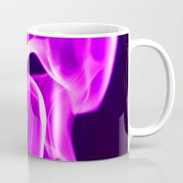 Crazy Purple Flame Coffee Mug