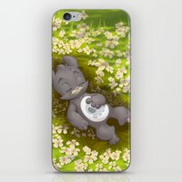 Flowery Death iPhone & iPod Skin