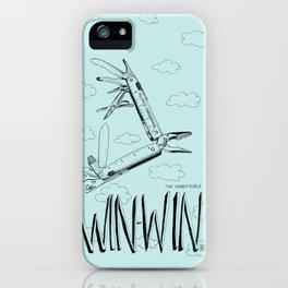 Win Win Bird iPhone Case