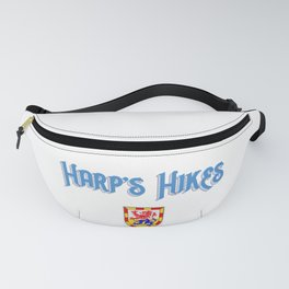 Harp's Hikes Coat of Arms Logo Fanny Pack