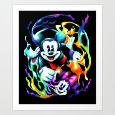 Massive Color Art Print