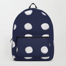 HAND-DRAWN WHITE CIRCLES Backpack
