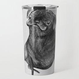 Le Carlin Noir Travel Mug