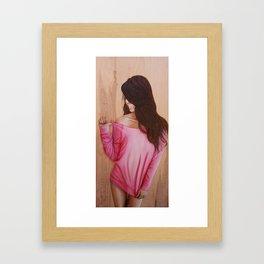 Pink Lady  Framed Art Print