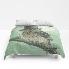 Night Smoke (Color Option) Comforters