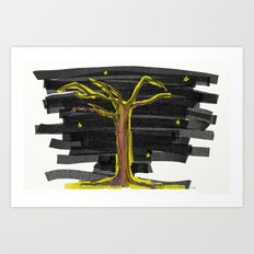 Tree#2 Art Print