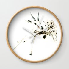 animal#02 Wall Clock