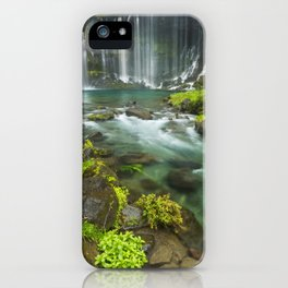 I - Shiraito Falls near Mount Fuji, Japan iPhone Case