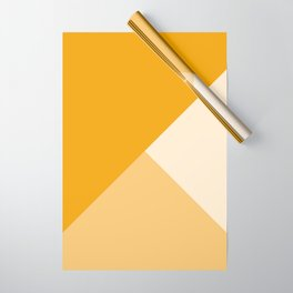 Mustard Tones Wrapping Paper