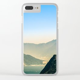 Rio de Janeiro Panoramic Photography Clear iPhone Case