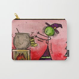 "#cagsticks ""A witchy Christmas"" Carry-All Pouch"