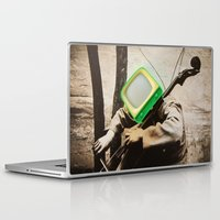 bass Laptop & iPad Skins featuring Bass TV by Marko Köppe