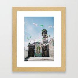 la virgen de guadalupe, san juan cosala Framed Art Print