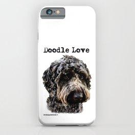 Doodle Love iPhone Case