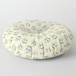 Kitty Hearts Kill - Cats Love Plotting Floor Pillow