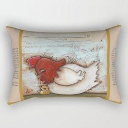 Cuddle Time - by Diane Duda Rectangular Pillow