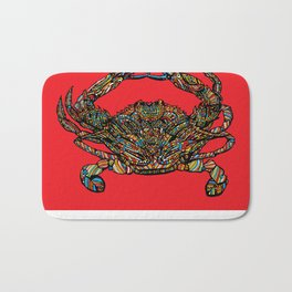 Maryland Crab (Red) Bath Mat