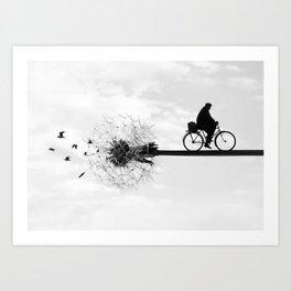 Chasing the Wind Art Print