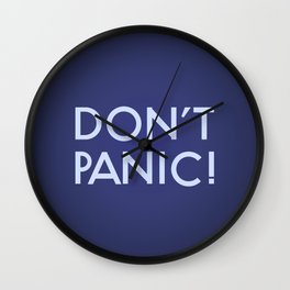Don't Panic! Wall Clock