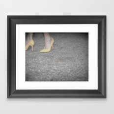 Take Off Your Stay-At-Home Shoes Framed Art Print
