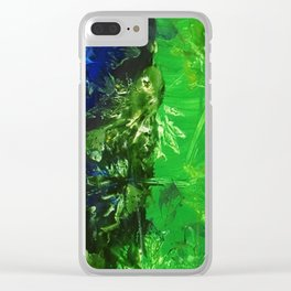 Daylight Savings Clear iPhone Case