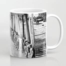 Long Beach Surf Contest 1930s Coffee Mug