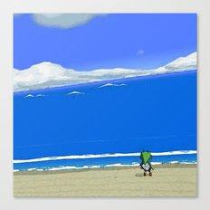 Wake the Sea Canvas Print