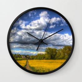 The Farm Path Wall Clock