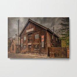Victorian Sawmill Metal Print