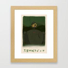 Castle In The Sky - Laputa, Miyazaki, Studio Ghibli Framed Art Print