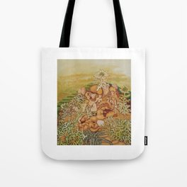 Fragments of Myself Tote Bag