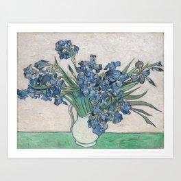 Vincent van Gogh - Irises (1890) Art Print