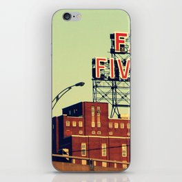 montreal five rose  iPhone Skin
