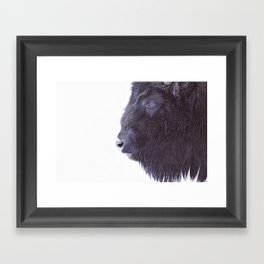BLACK BUFFALO Framed Art Print