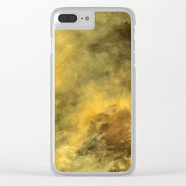 Perfect Aftermath Clear iPhone Case