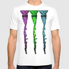 Flowing MEDIUM Mens Fitted Tee White
