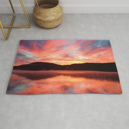 Angels in the Morning: Sunrise Rug