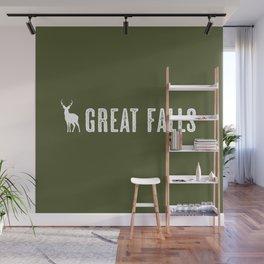 Deer: Great Falls, Montana Wall Mural