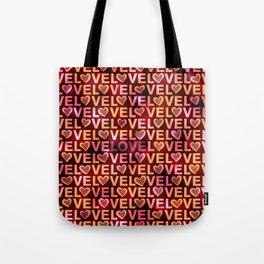 Love Hearts Rich Tote Bag