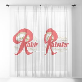 Seattle beer, for drinks lovers Sheer Curtain