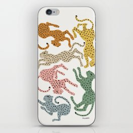 Rainbow Cheetah iPhone Skin