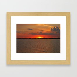 When All is Done Framed Art Print