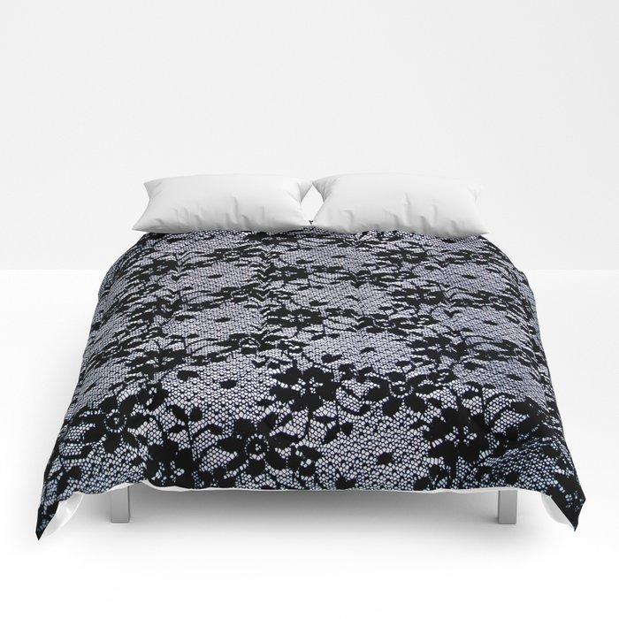 Black Lace Comforters