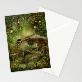 Enchanted Mushrooms Stationery Cards