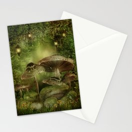 Enchanted Mushrooms Stationery Cards