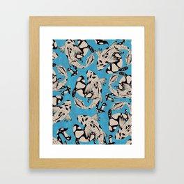 Speckled Koi Framed Art Print