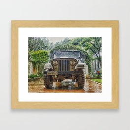 Jeep Framed Art Print