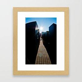 Towards the Light Framed Art Print