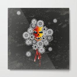 skull flos Metal Print