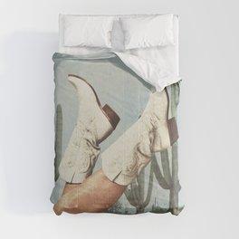 These Boots - Cactus & Yee haw Comforters
